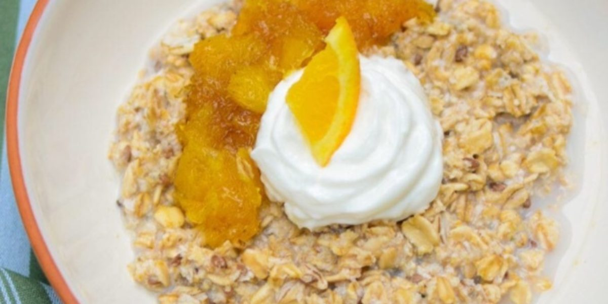 Nutrition Facts Orange Vanilla