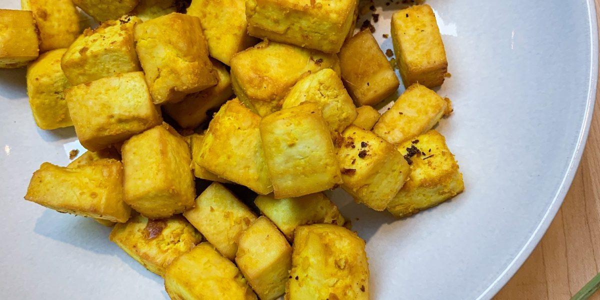 Turmeric Sesame Lemongrass Tofu