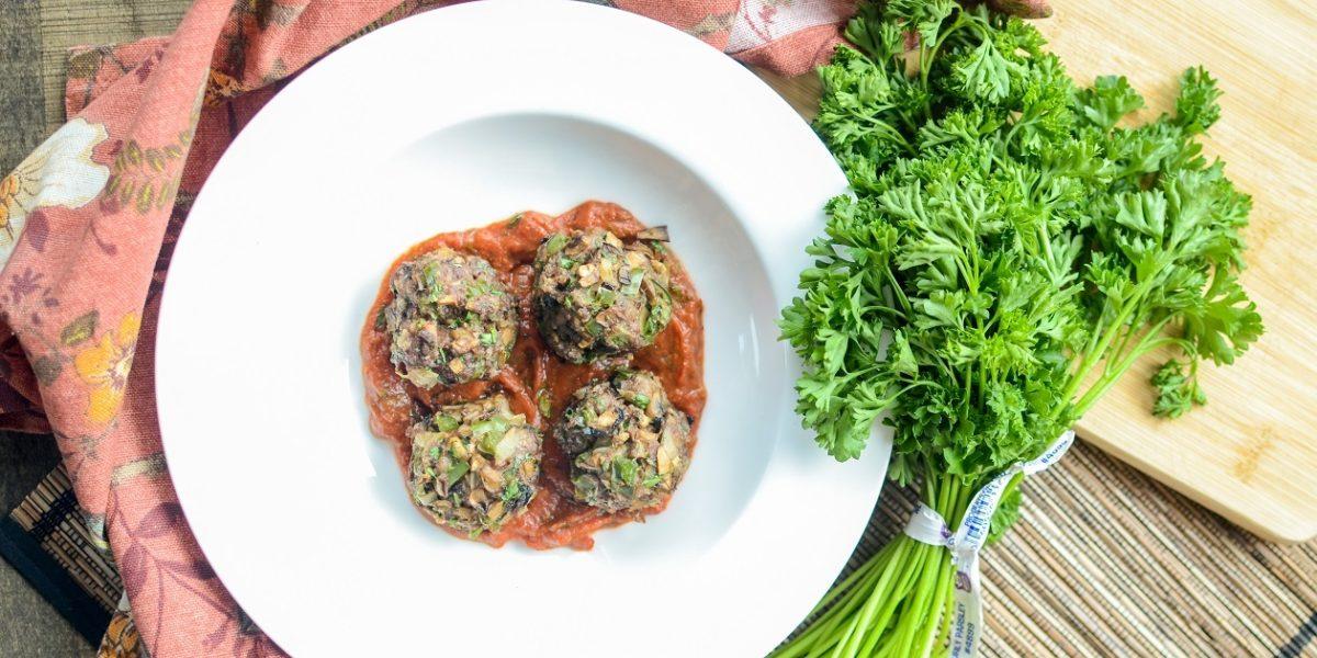 Beef Mushroom Meatballs 2