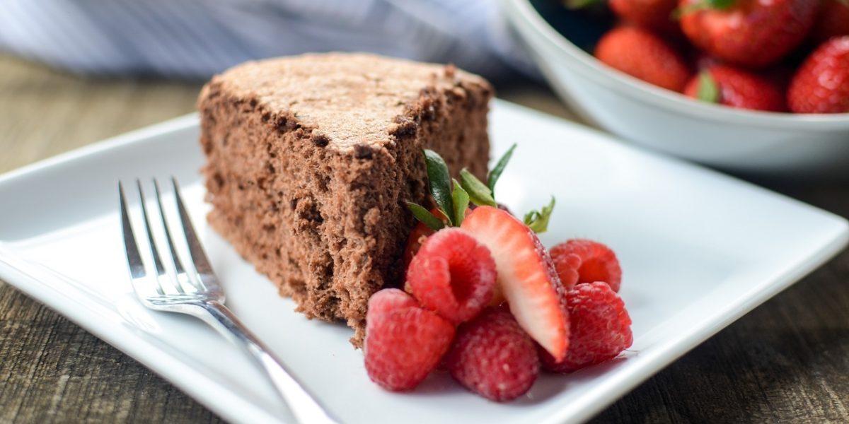 Chocolate Angel Food Cake 3