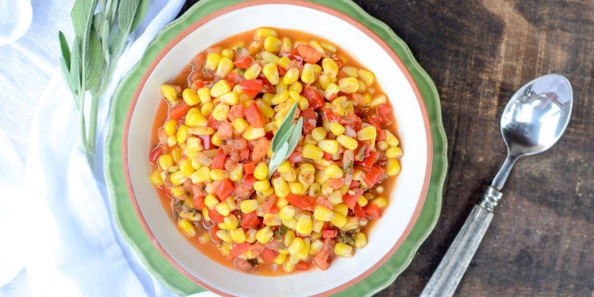 Corn Pepper Tomato Saute 2