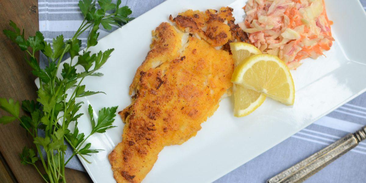 Cornmeal Crusted Catfish 6