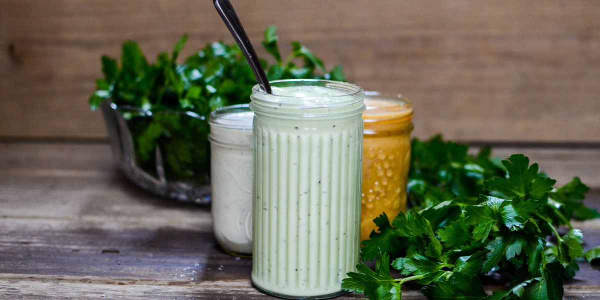 Creamy Cucumber Vinaigrette Hi Res