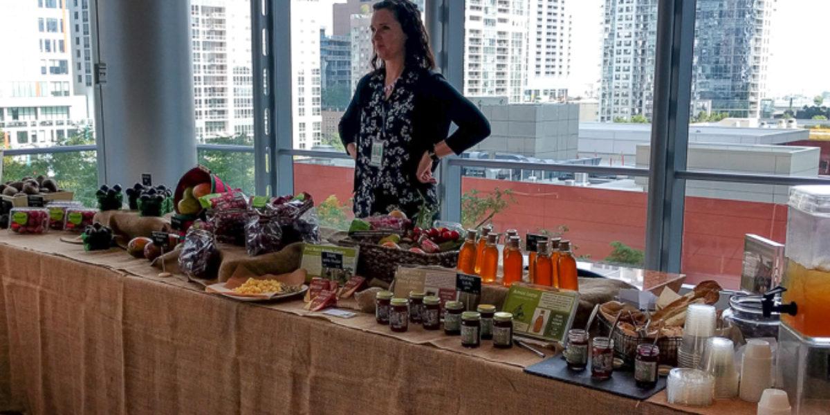 Flik Dietitian Farmers Market