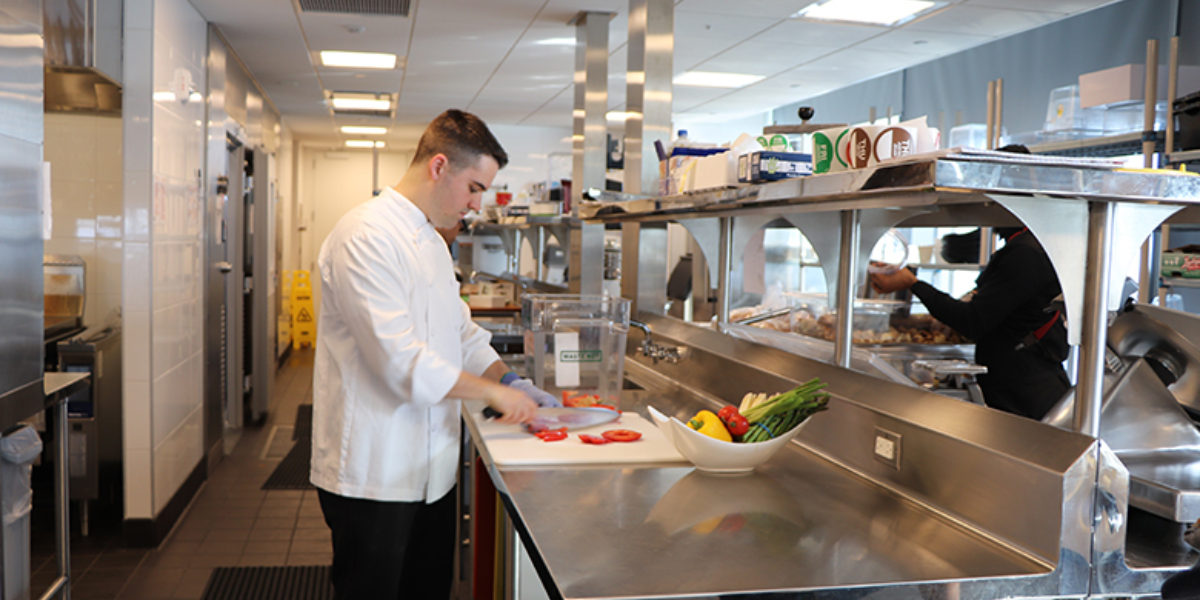 Food Waste Restaurants Chef Tomaino In The Kitchen
