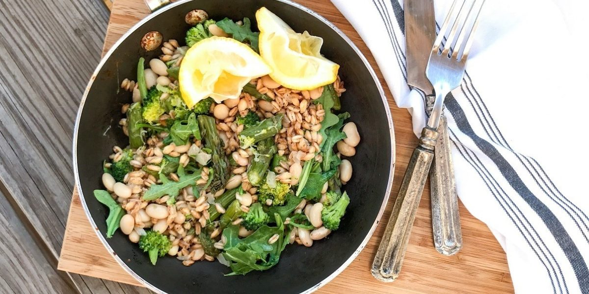 Green Farro Risotto Hi