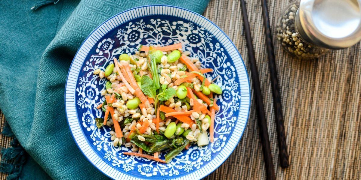 Grilled Scallion Salad 2