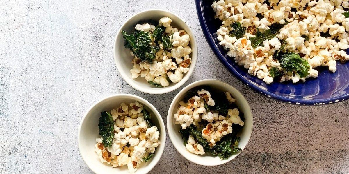 Kale Chips Popcorn