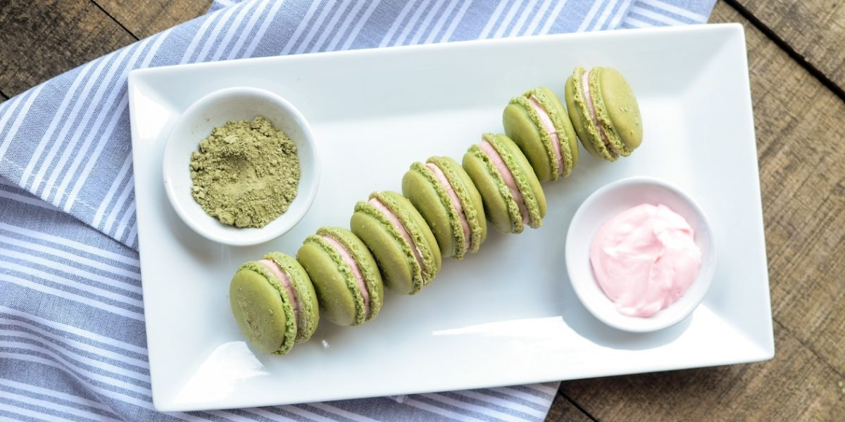 Matcha Macarons 7