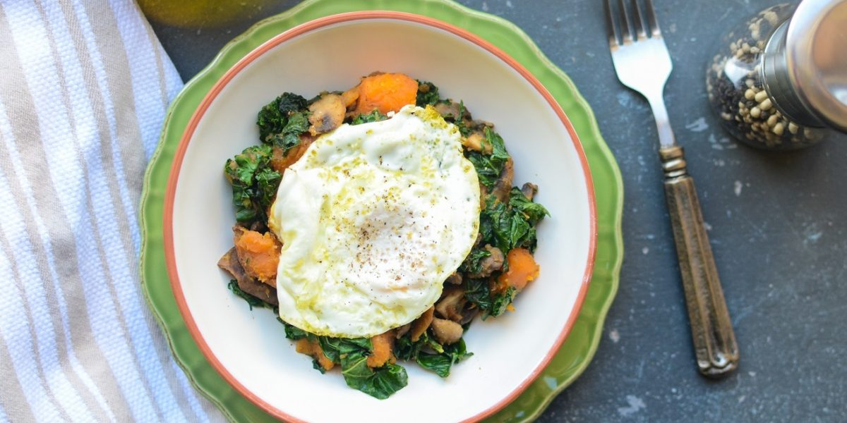 Sweet Potato Kale Hash 2