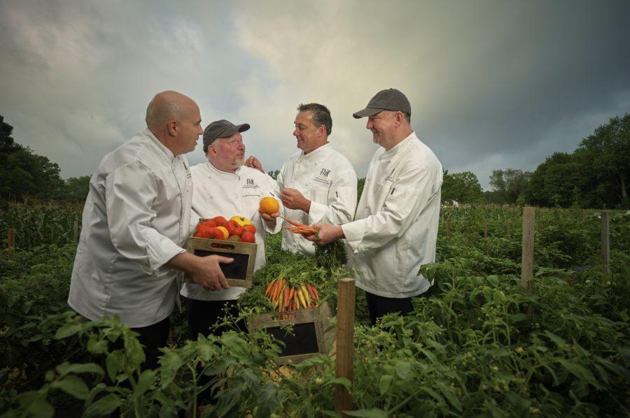 Chefs In Field