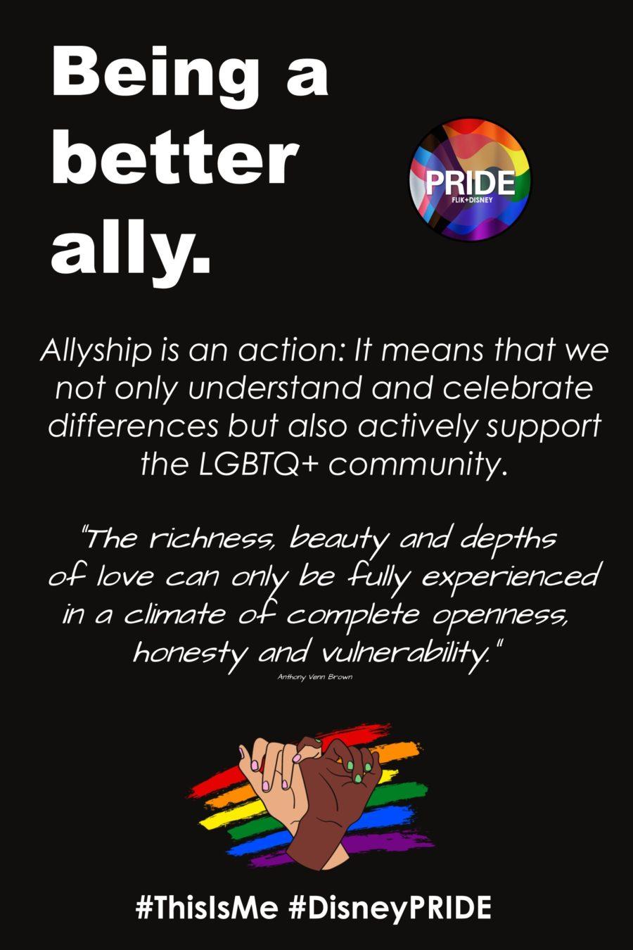 Flik Allyship Pride