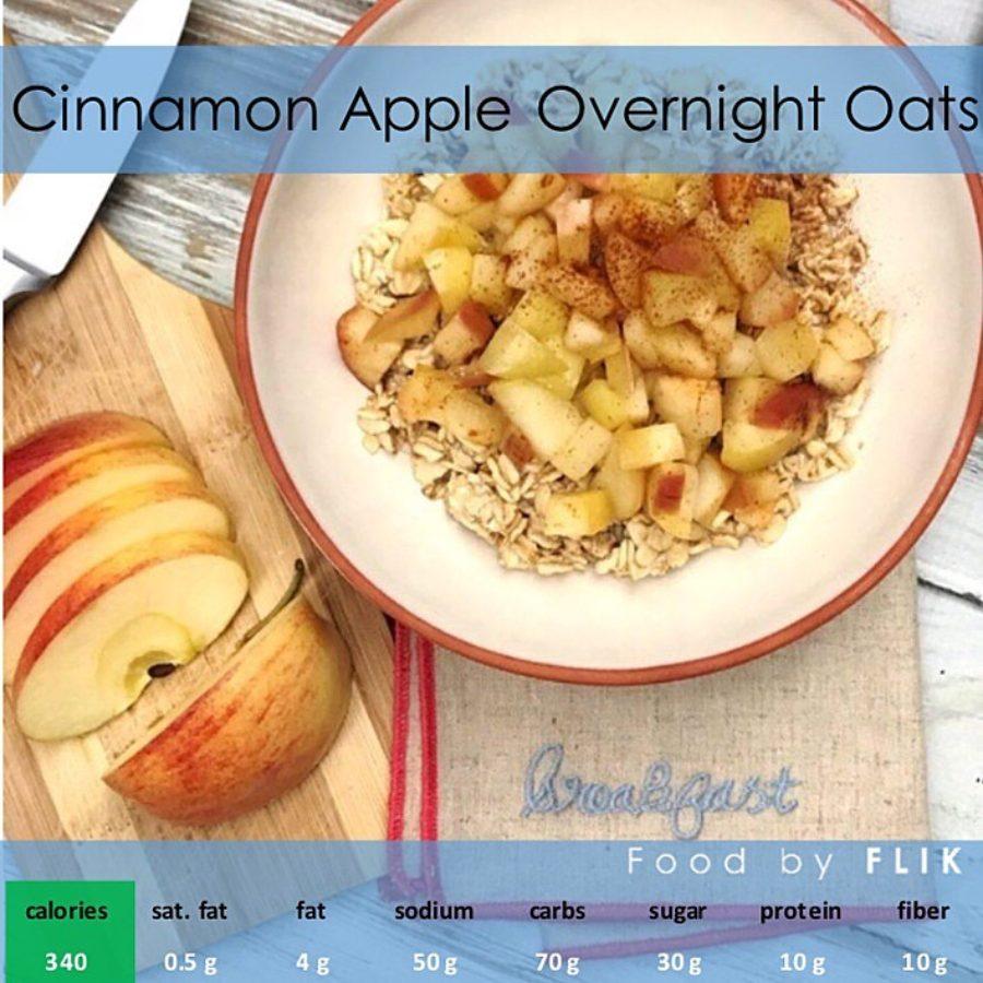 Nutrition Facts Cinnamon Apple