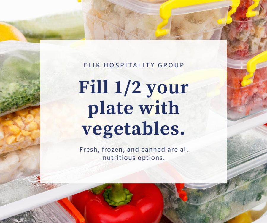Vegetables Half Plate