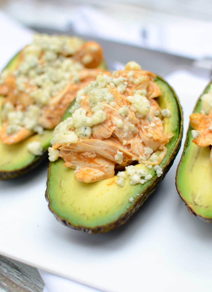 Buffalo Chicken Avocado