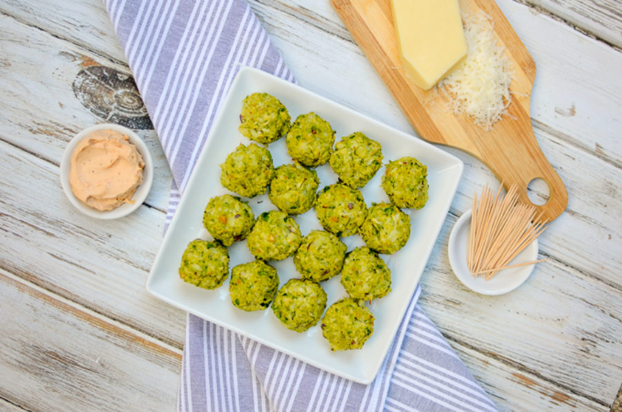 Cauliflower Green Pea Meatballs