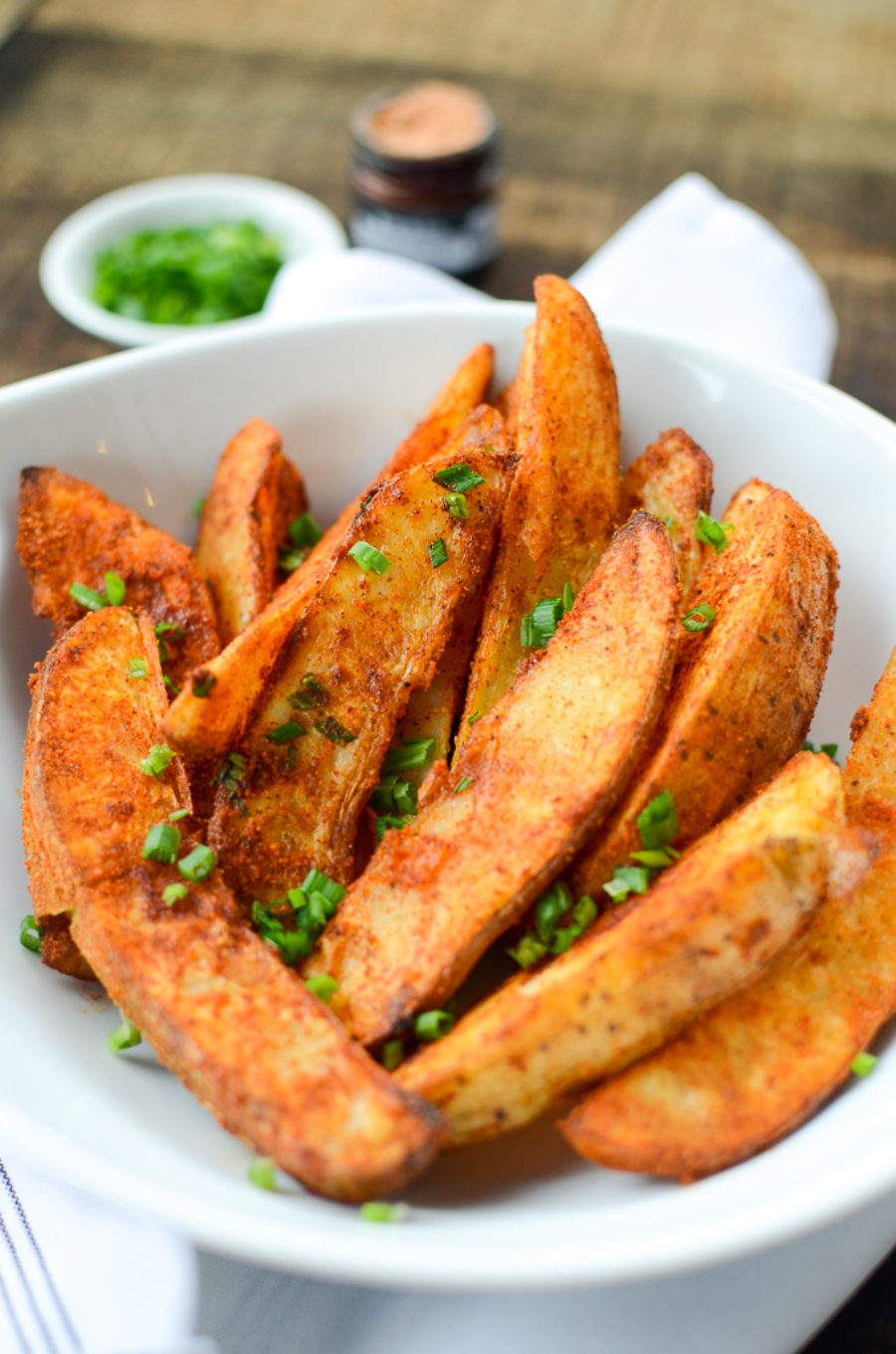 Chili Spiced Potato Wedges
