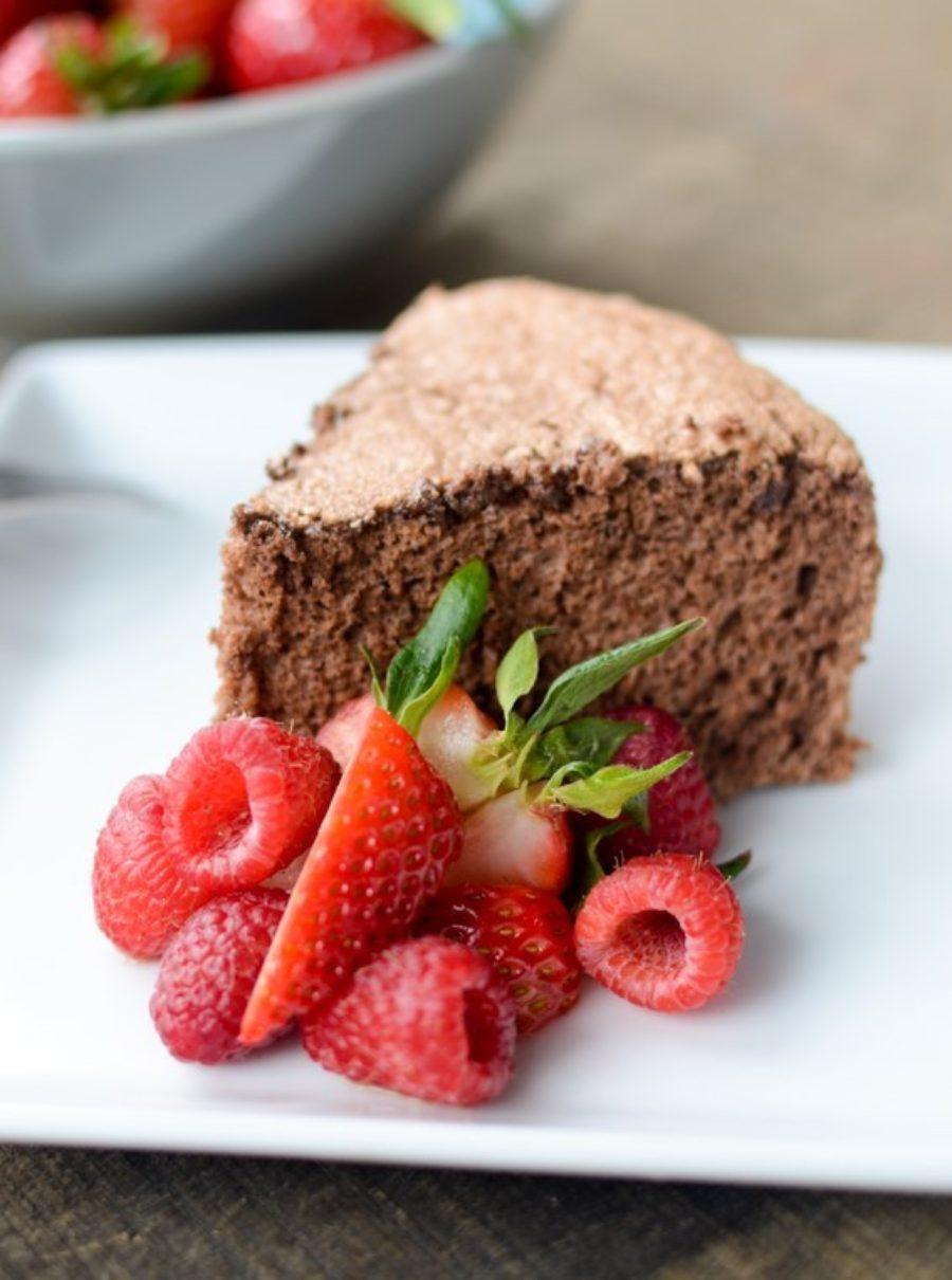 Chocolate Angel Food Cake 2