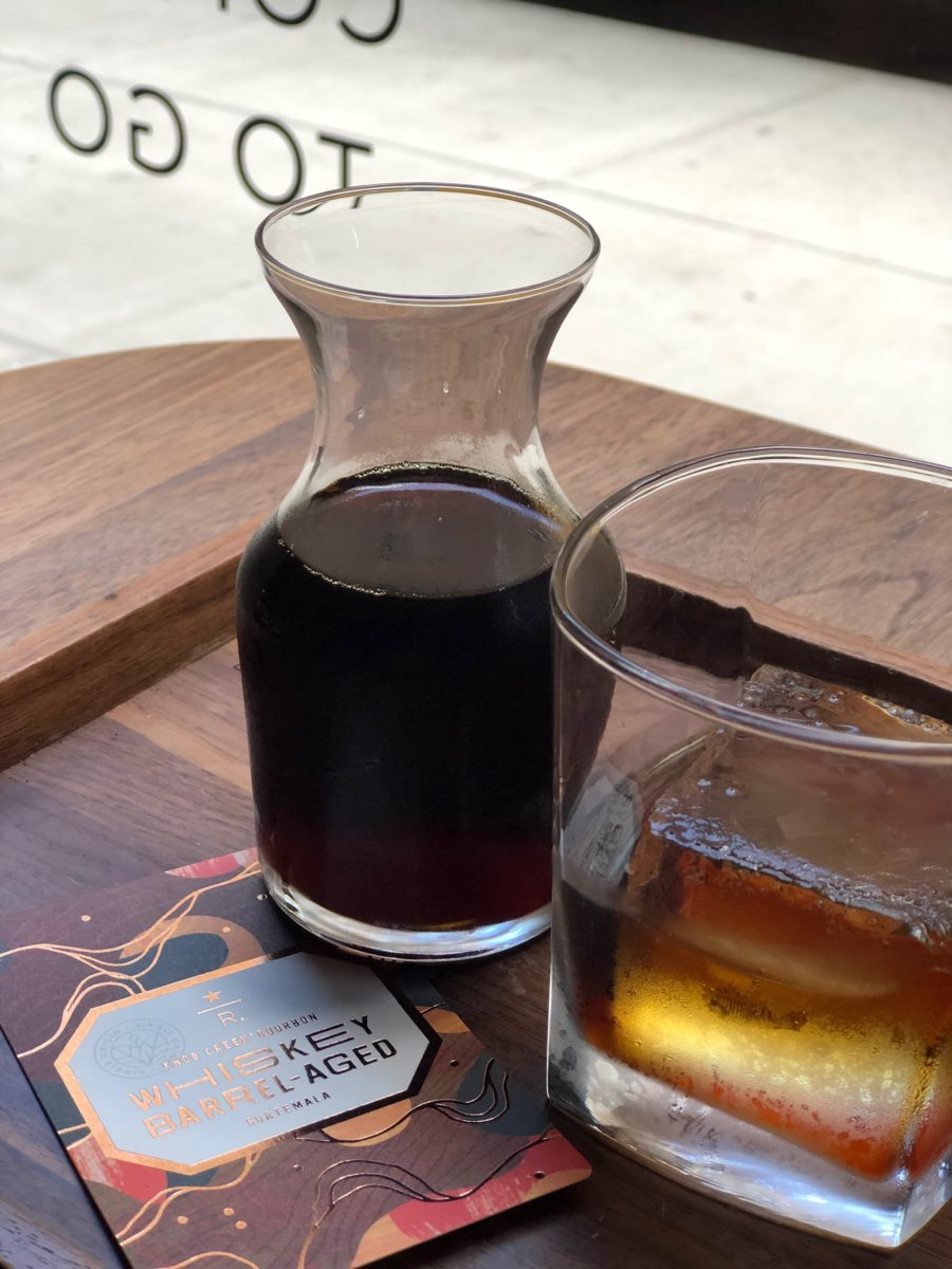 Coffee Whiskey Aged