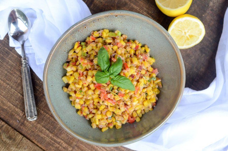 Corn Scallion Ragout 5
