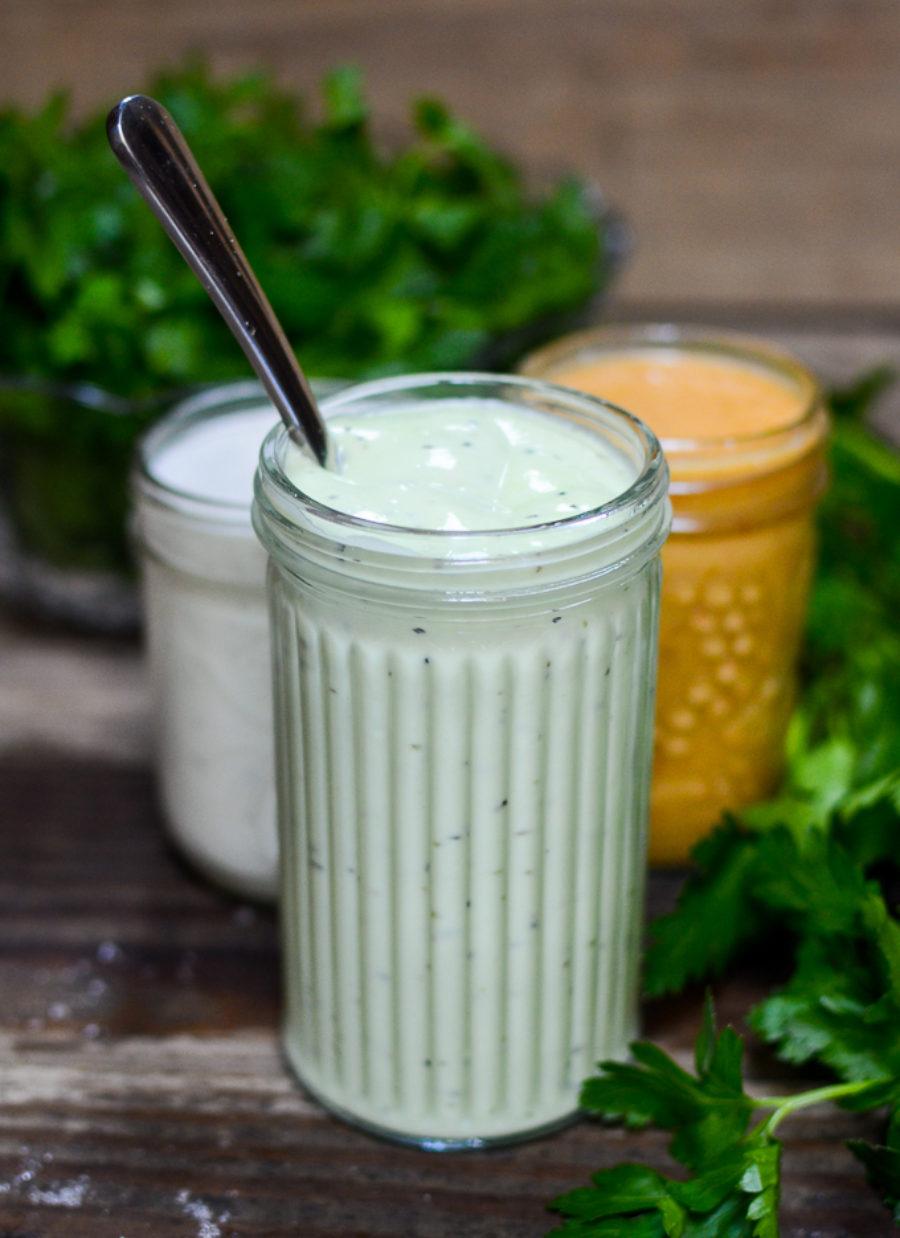 Creamy Cucumber Vinaigrette