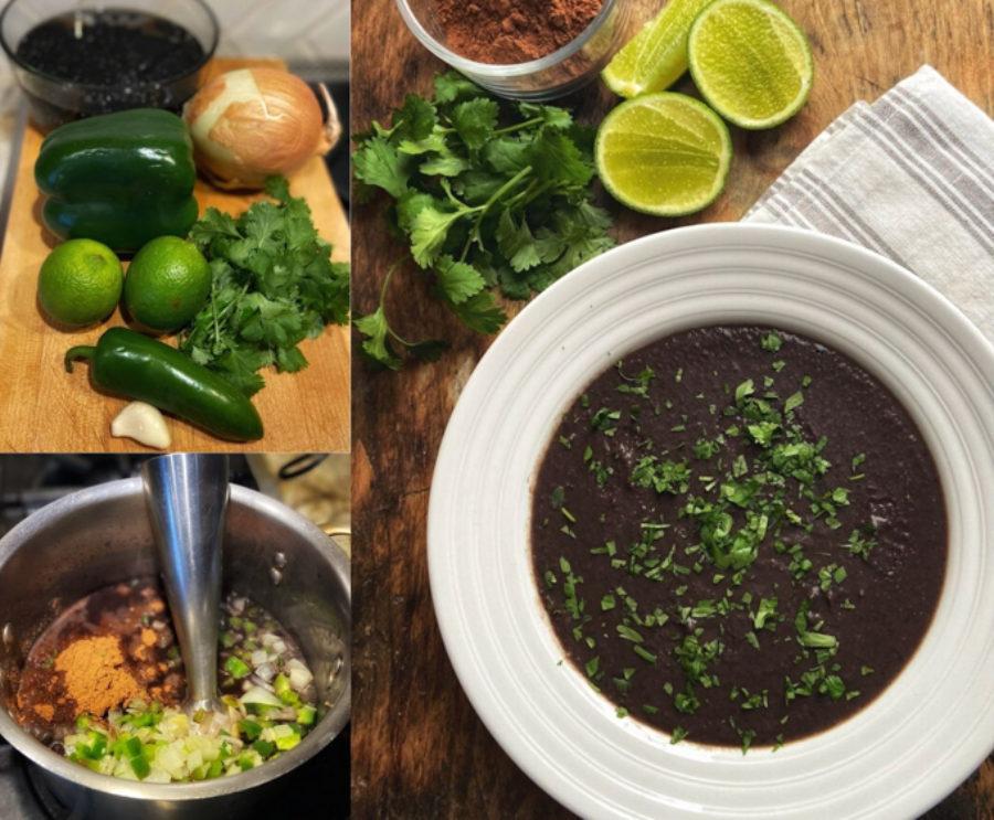 Flik Black Bean Cocoa Soup