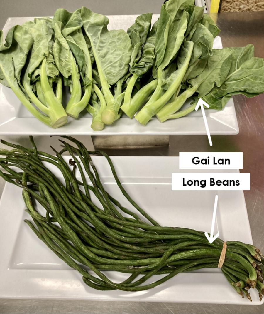 Gai Lan Long Beans