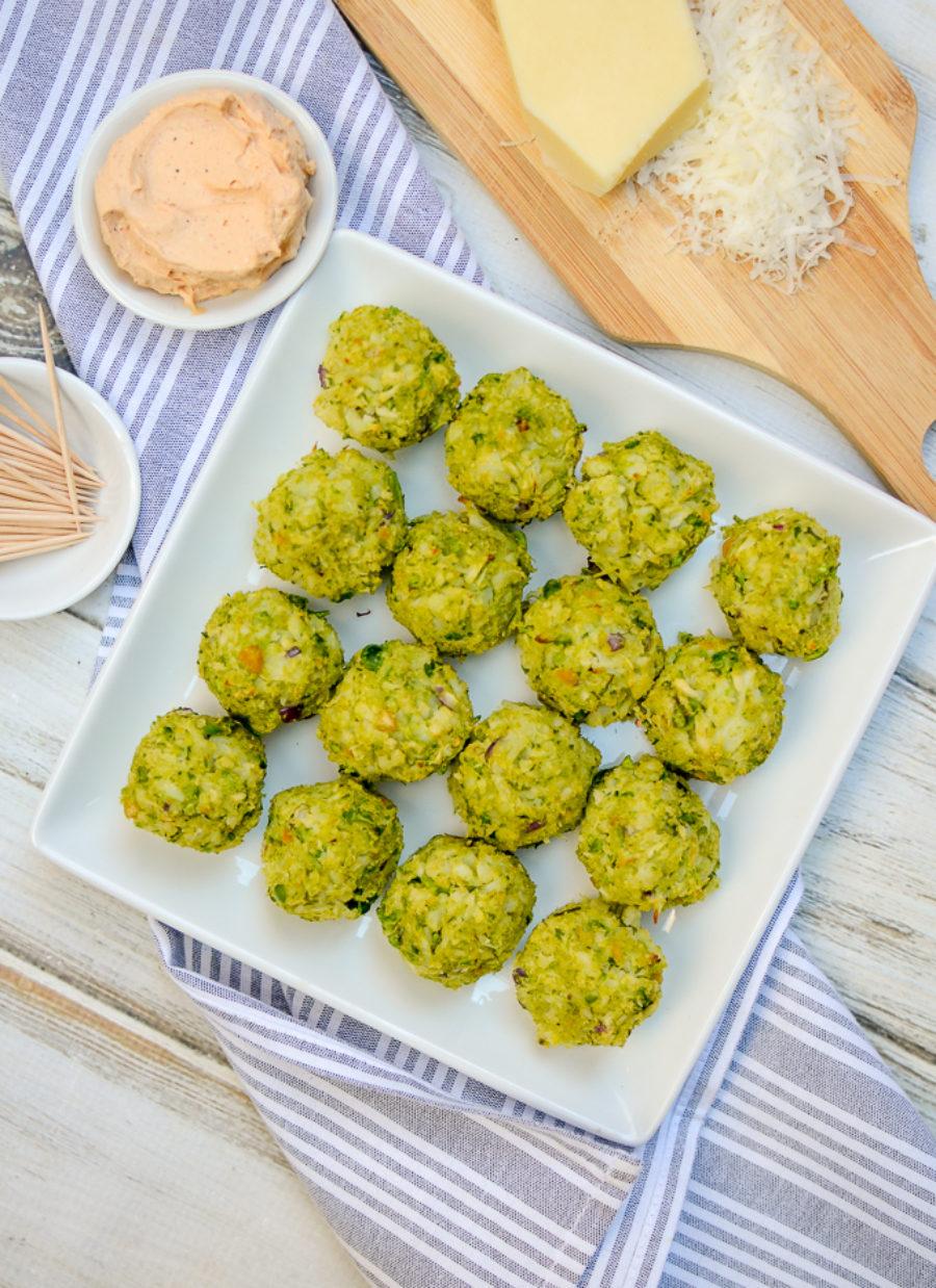 Garbanzo Cauliflower Meatballs