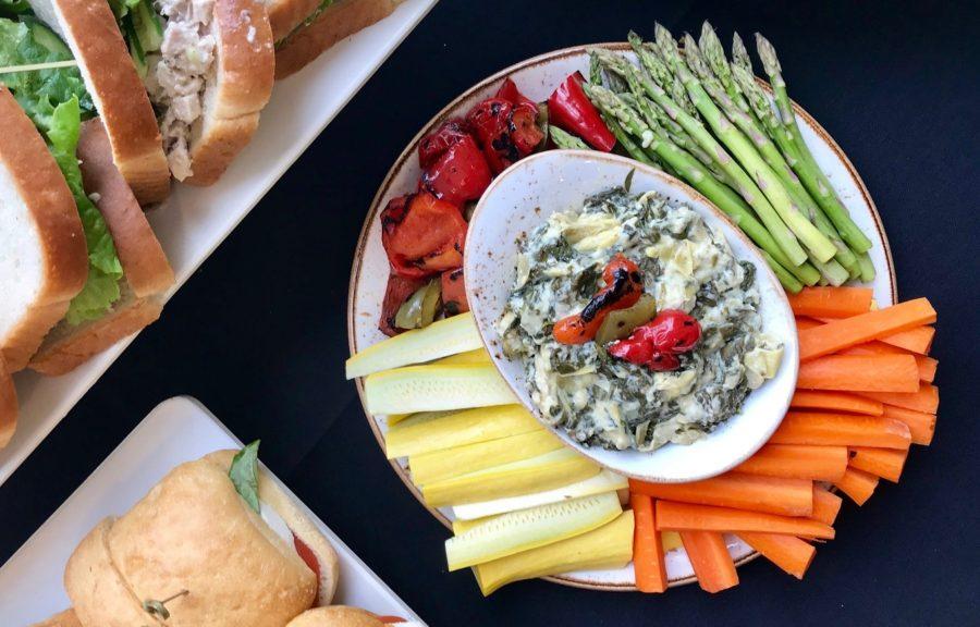 Greek Yogurt Spinach Artchoke Dip Hi Res