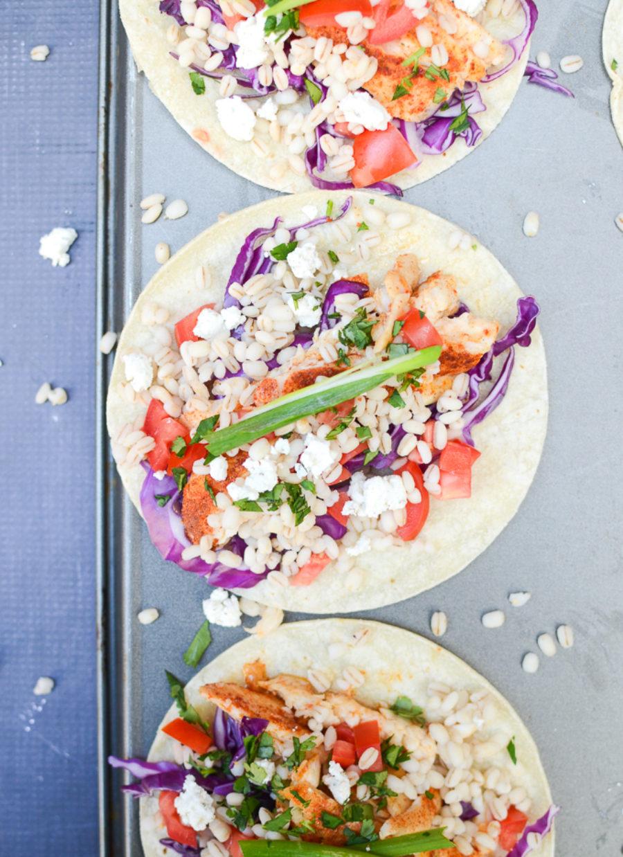Grilled Fish Tacos Tilapia