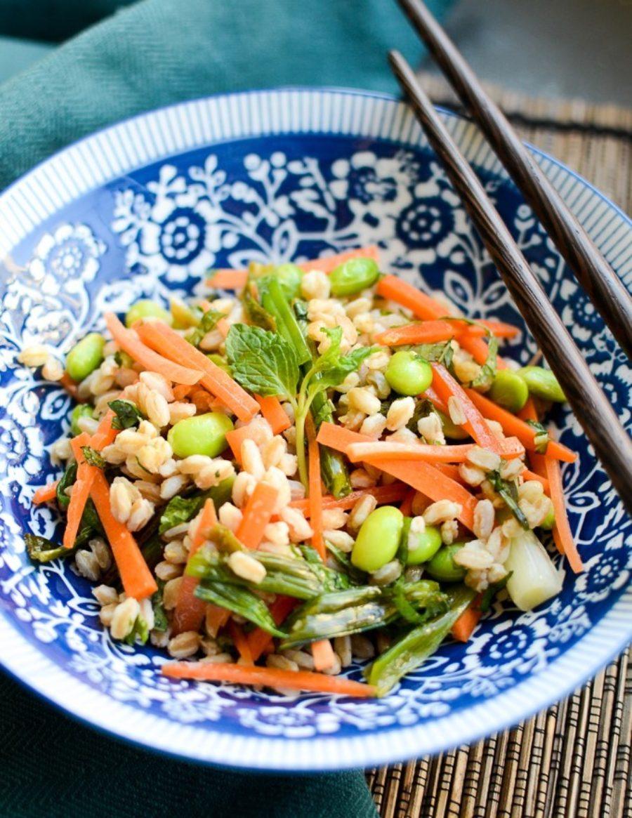 Grilled Scallion Salad 3