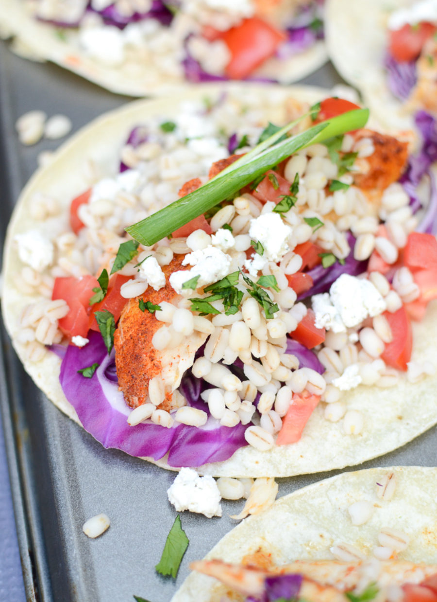 Healthy Tilapia Tacos