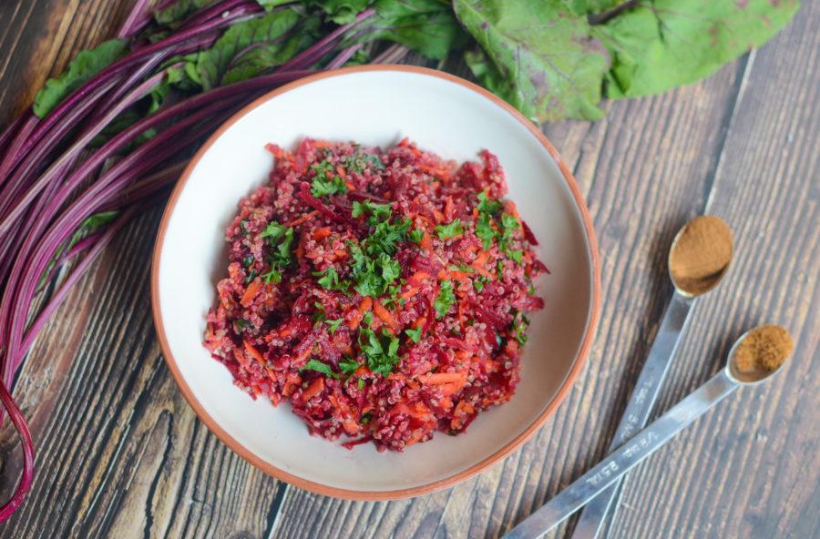 Moroccan Quinoa Beet Carrot Salad 1360