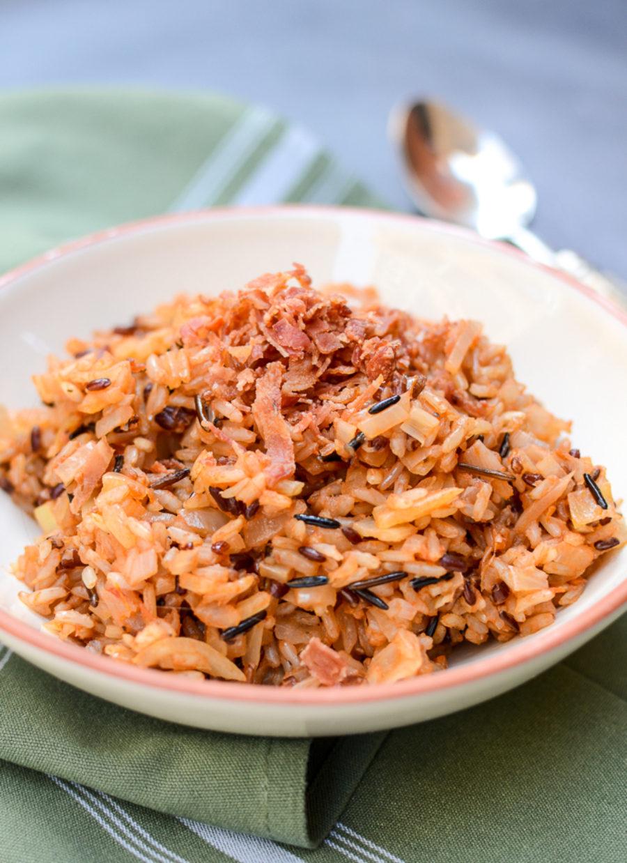 Wild Rice Bacon