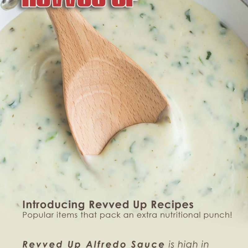 Alfredo Sauce Card Front
