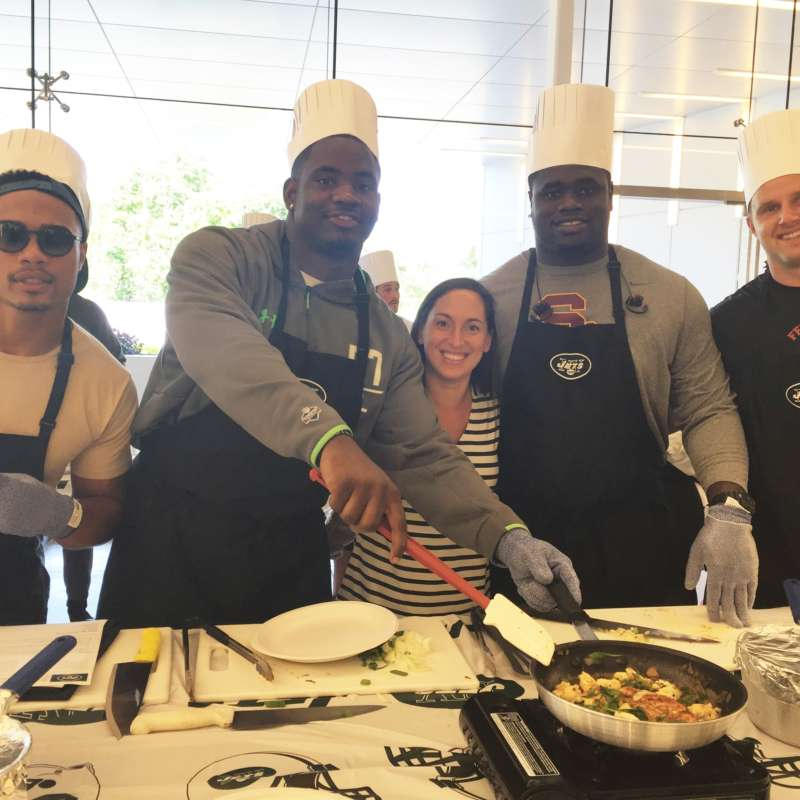 Jets Cooking Class 2