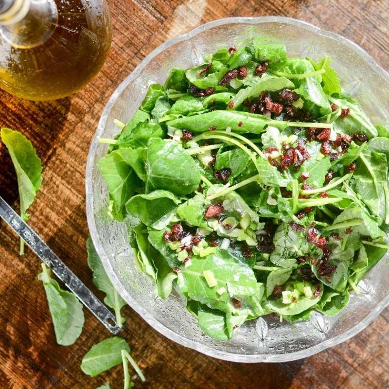 Baby Kale Currant Lemon Salad Hi Res
