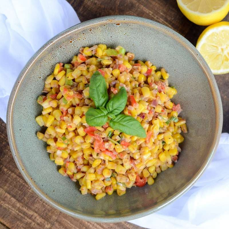 Corn Scallion Ragout 5
