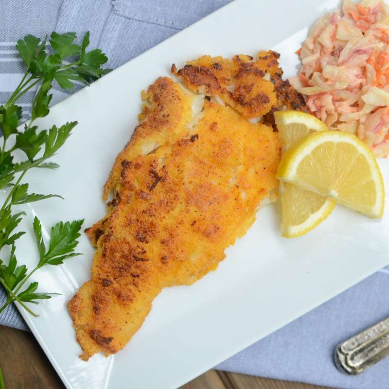 Cornmeal Crusted Catfish 6