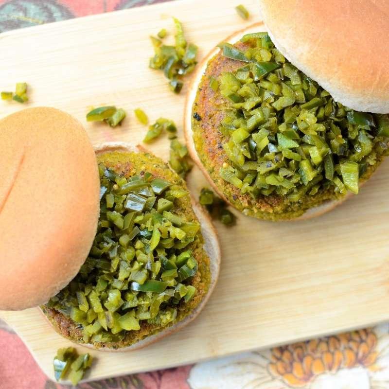 Falafel Burger 3