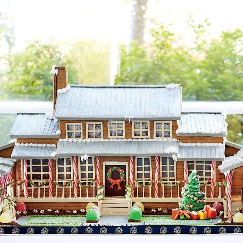 Full Size Gingerbread House