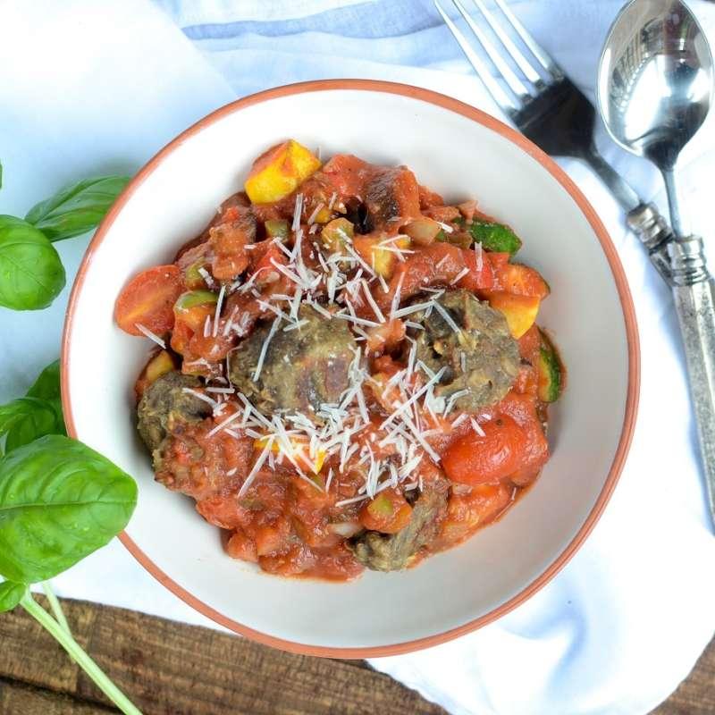 Mushroom Lentil Meatballs 4