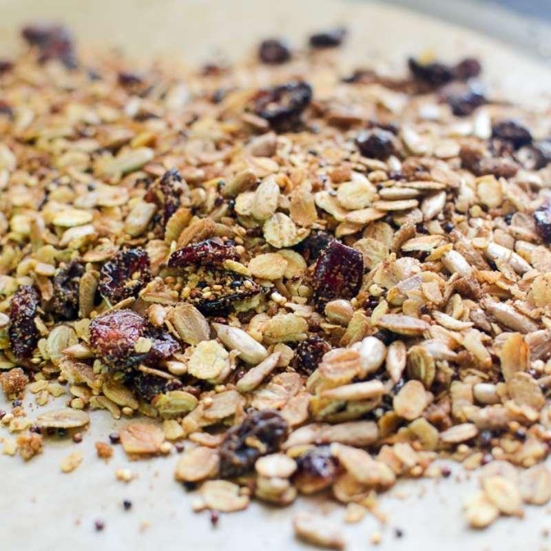 Oat Quinoa Granola 2