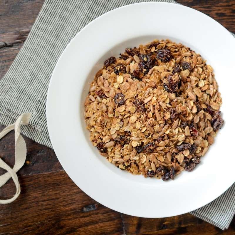 Oat Quinoa Granola 4
