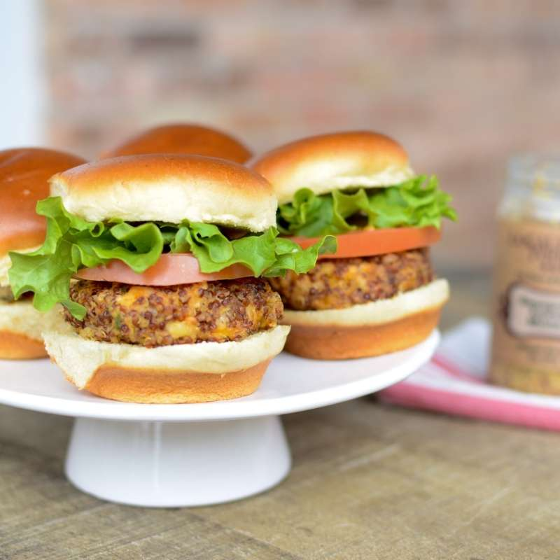 Quinoa Cheddar Sliders 4