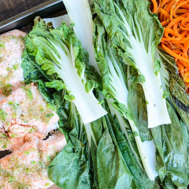 Salmon Bok Choy Sweet Potato 3