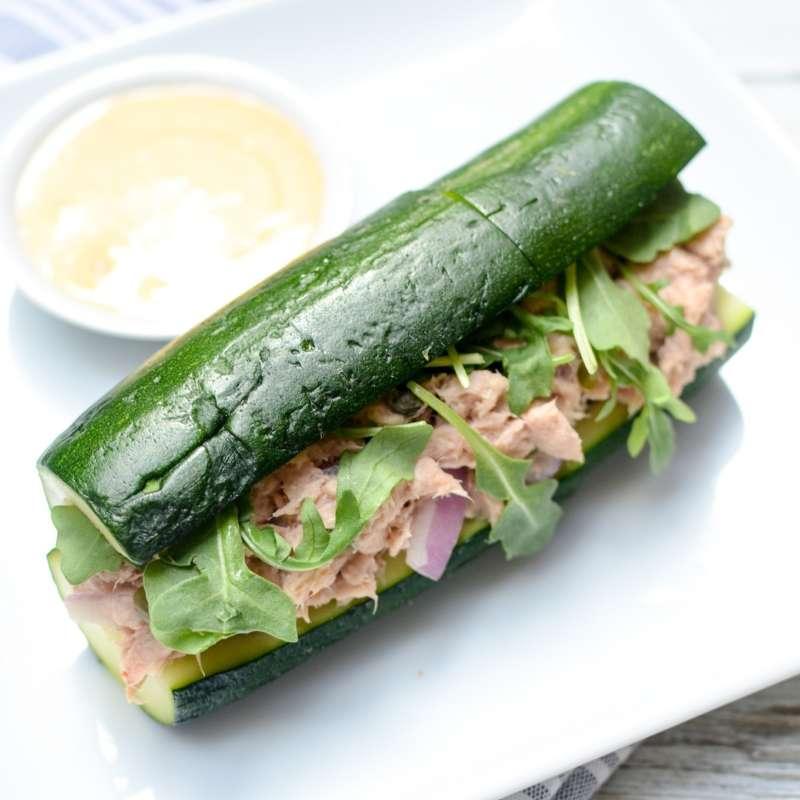 Salmon Salad Zucchini Hi Res