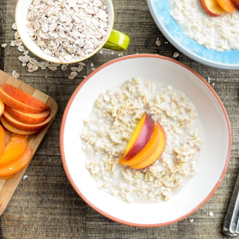 Stone Fruit Oatmeal 2