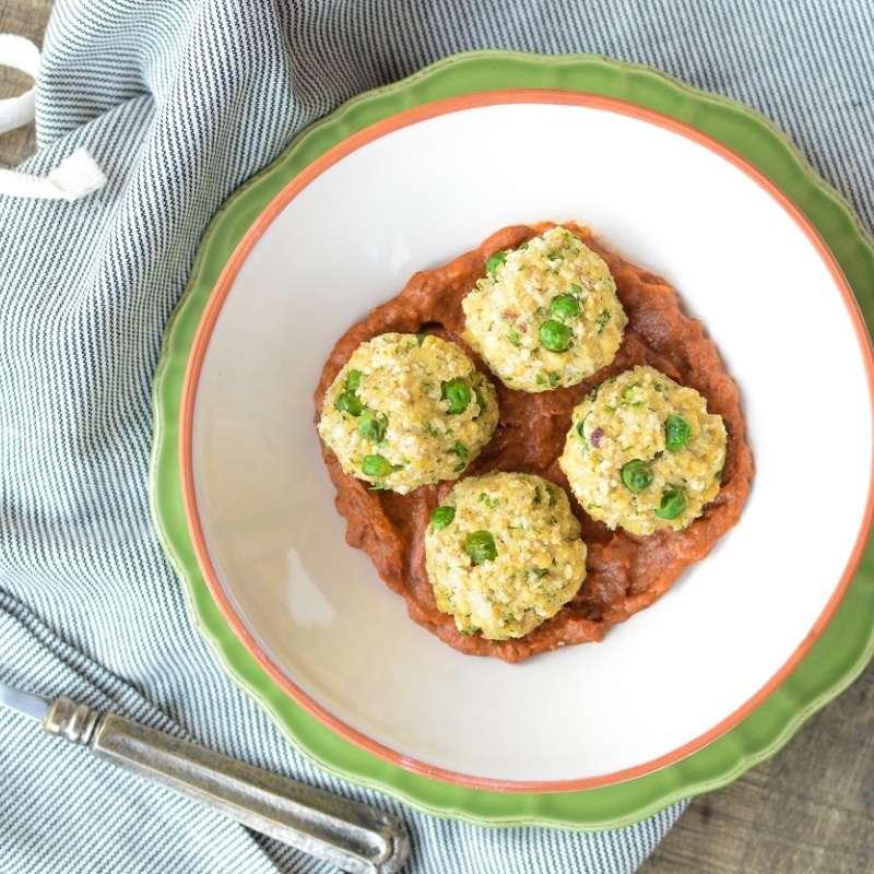 Tofu Meatballs 4