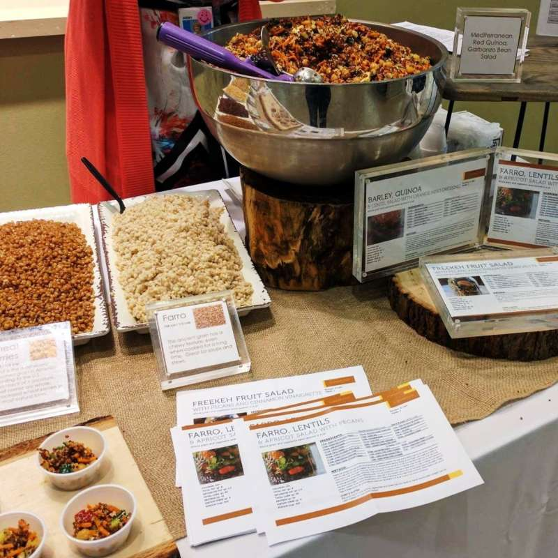 Whole Grains Table